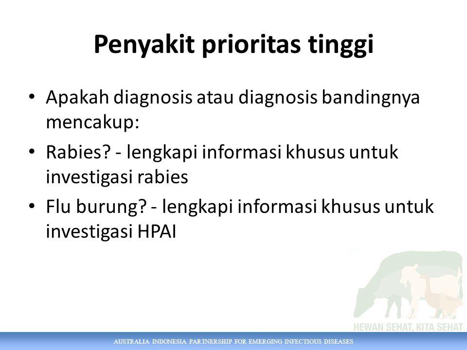 Penyakit prioritas tinggi