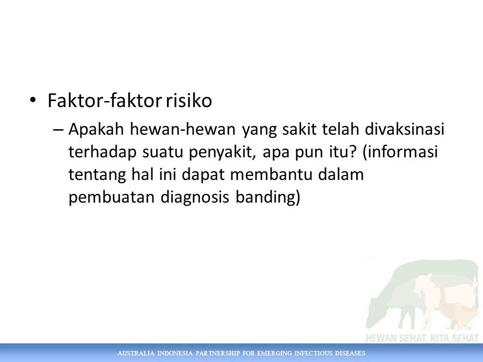 Faktor-faktor risiko