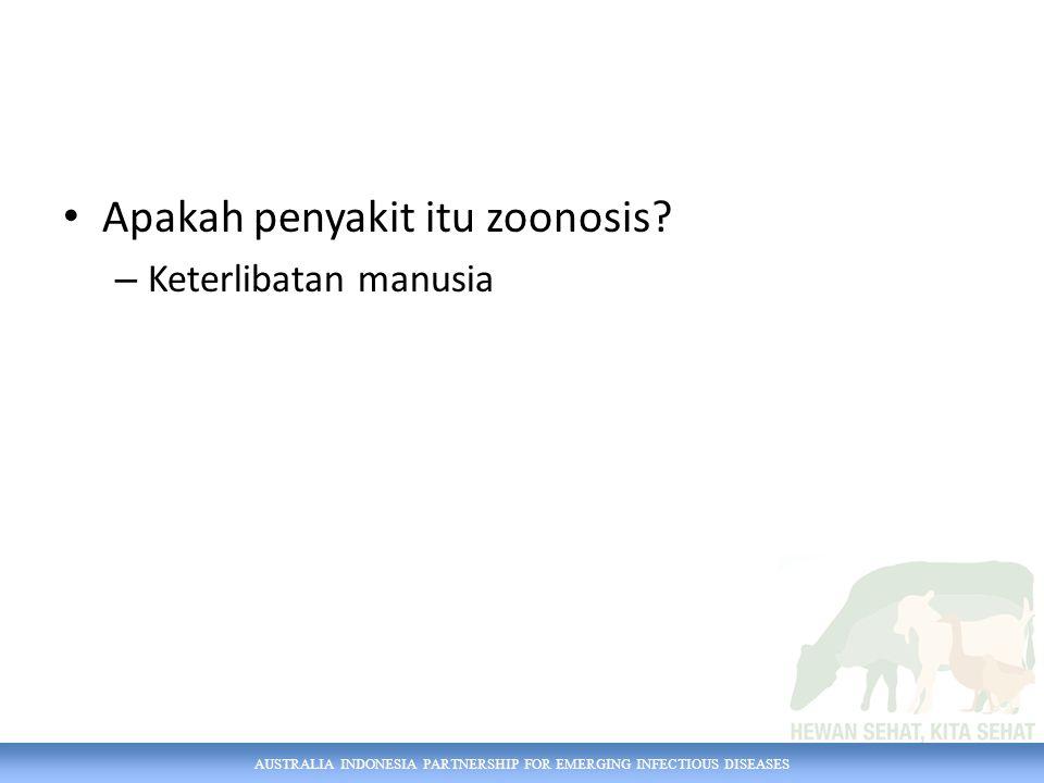 Apakah penyakit itu zoonosis