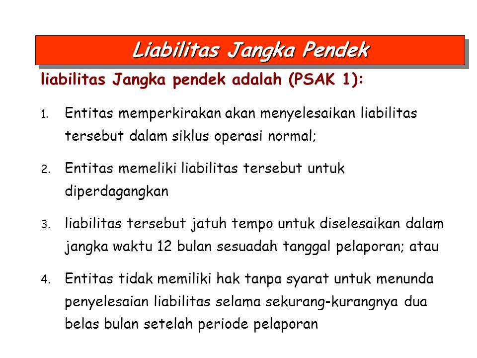 Liabilitas Jangka Pendek