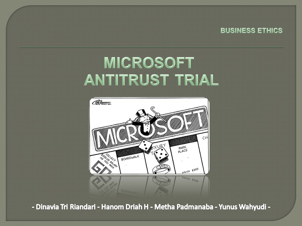 MICROSOFT ANTITRUST TRIAL