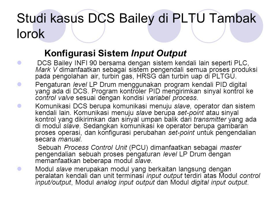 Studi kasus DCS Bailey di PLTU Tambak lorok