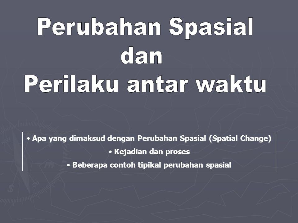Perubahan Spasial dan Perilaku antar waktu