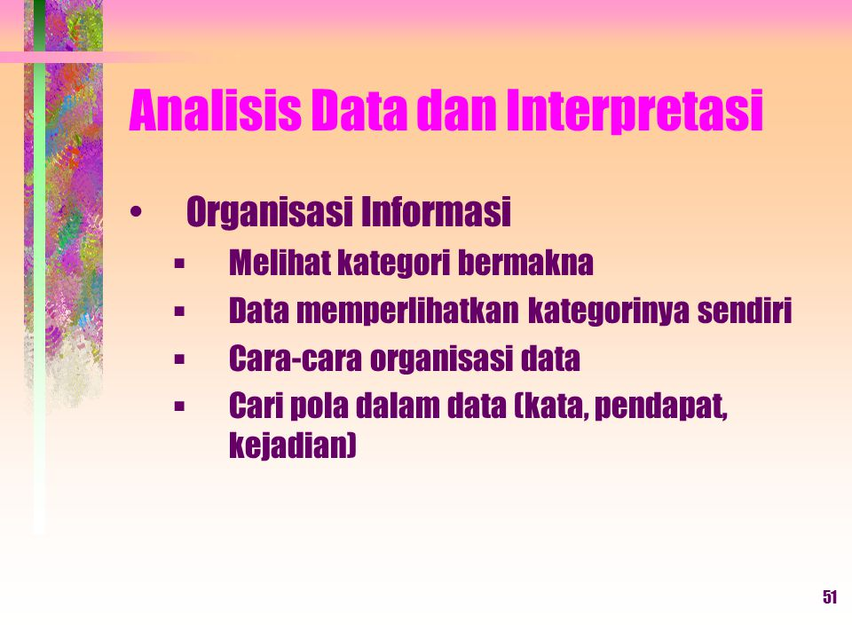 Analisis Data dan Interpretasi