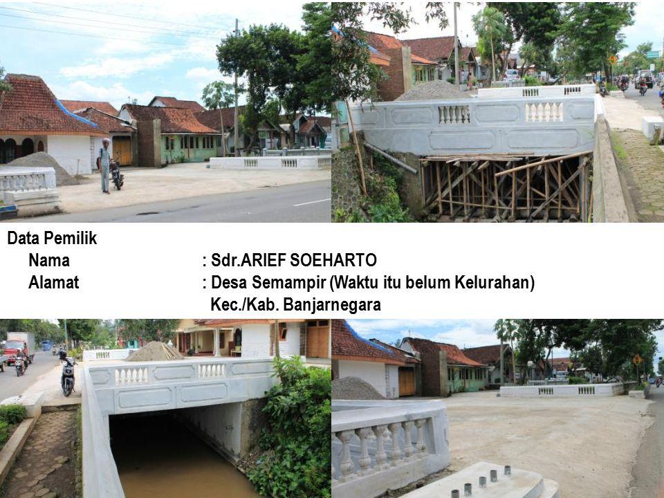 Data Pemilik Nama : Sdr.ARIEF SOEHARTO.