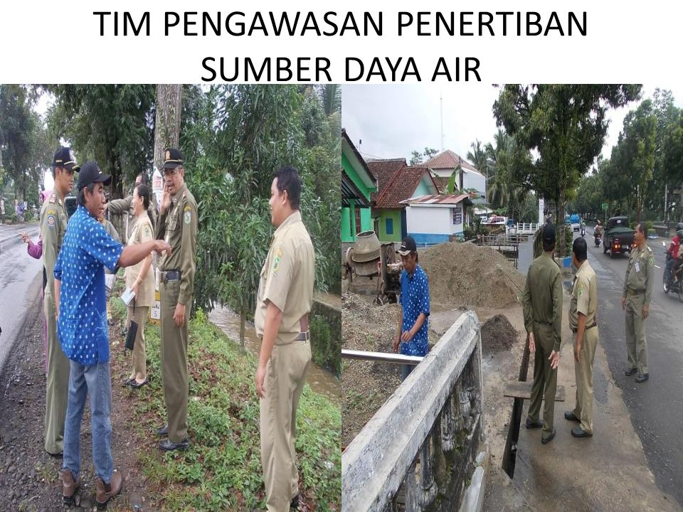 TIM PENGAWASAN PENERTIBAN SUMBER DAYA AIR