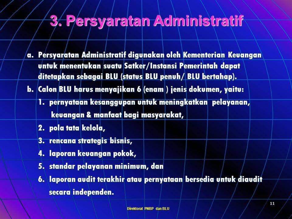 3. Persyaratan Administratif