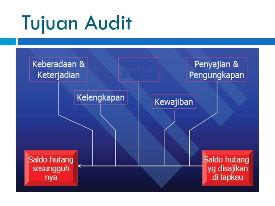 Tujuan Audit