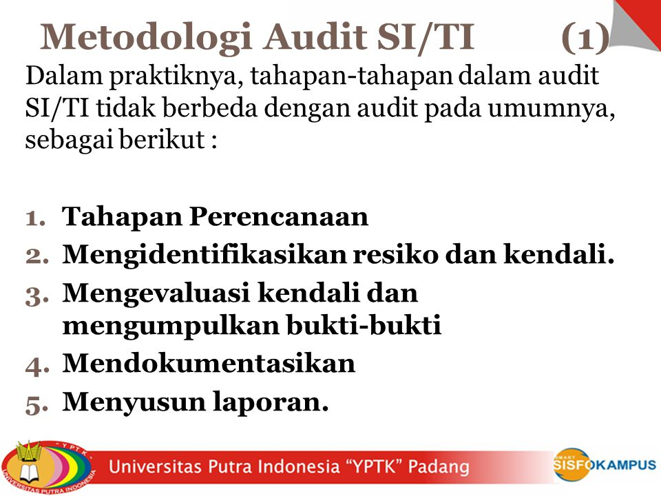 Metodologi Audit SI/TI (1)