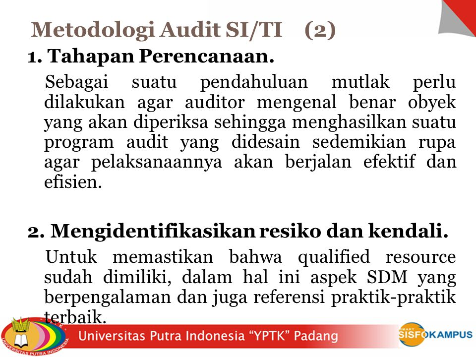Metodologi Audit SI/TI (2)