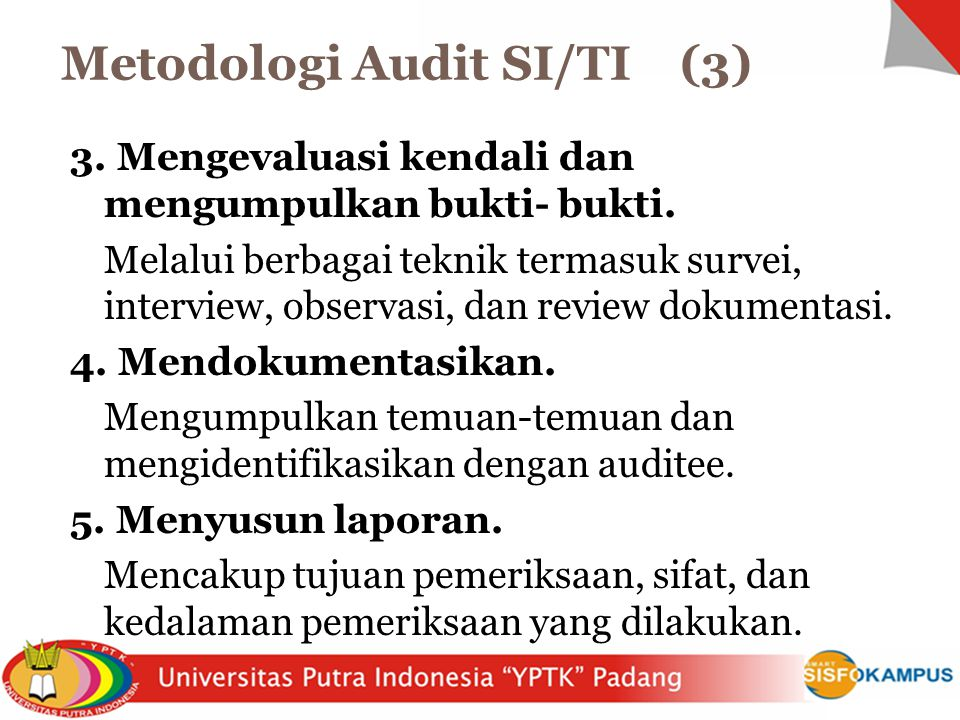 Metodologi Audit SI/TI (3)
