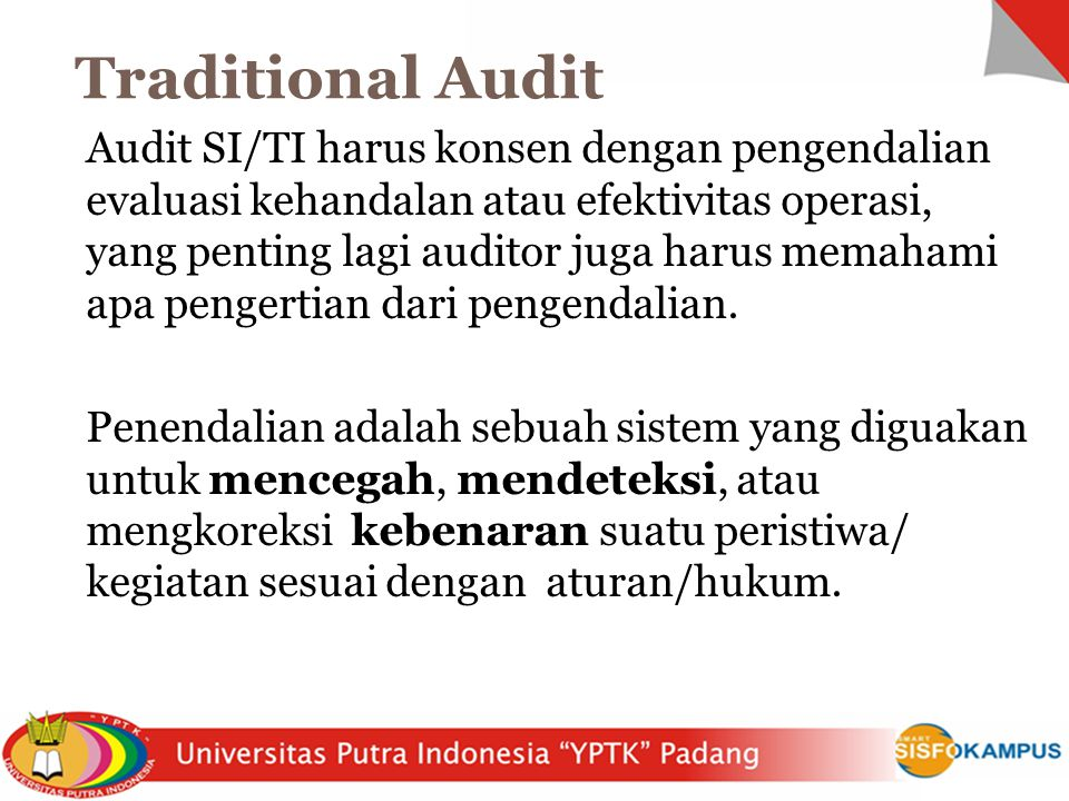 Traditional Audit