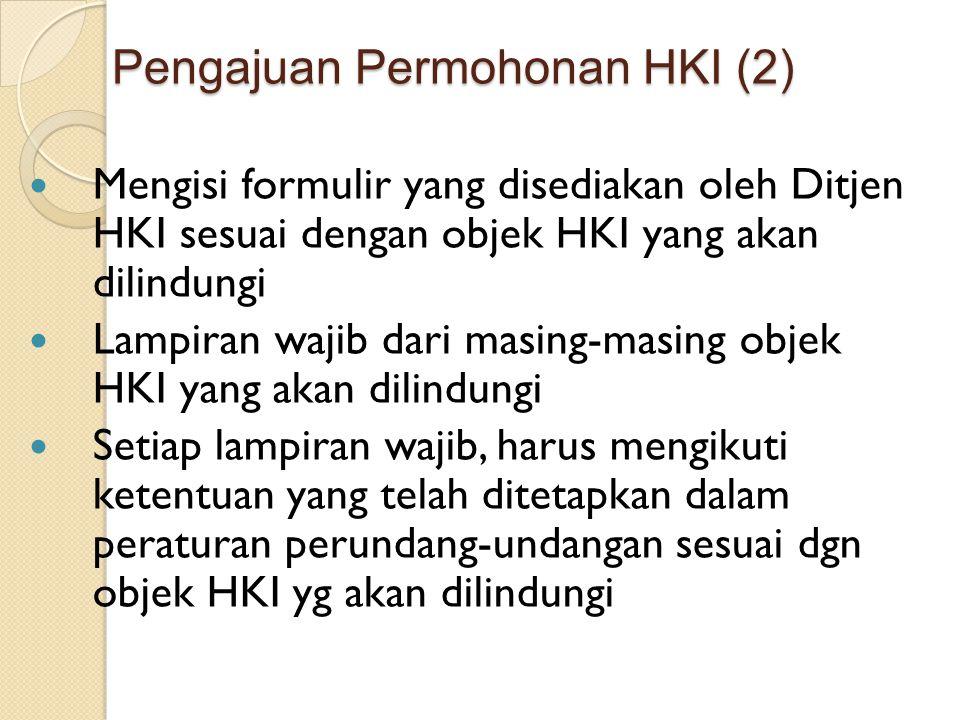 Pengajuan Permohonan HKI (2)