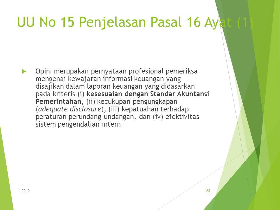 UU No 15 Penjelasan Pasal 16 Ayat (1)
