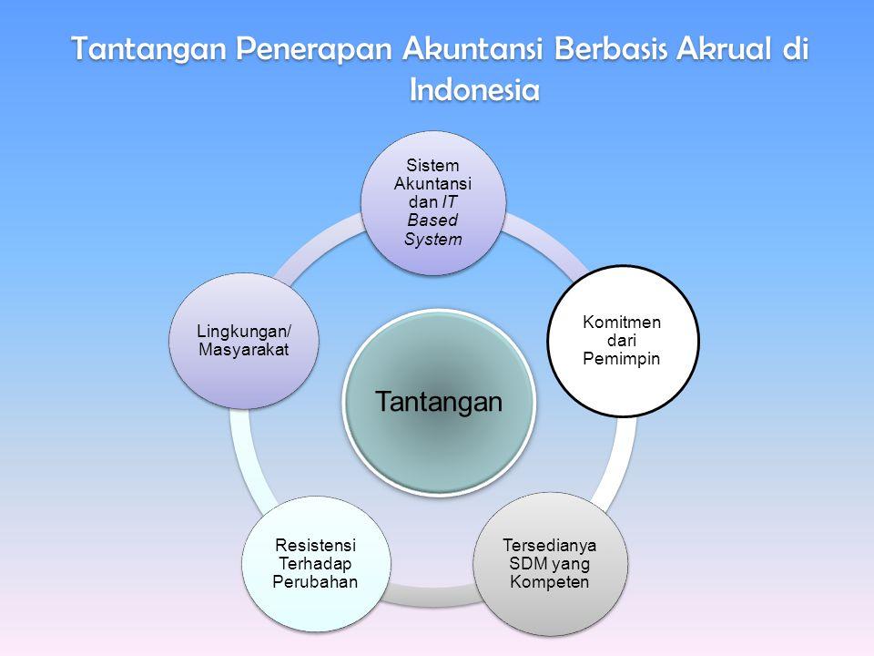 Tantangan Penerapan Akuntansi Berbasis Akrual di Indonesia