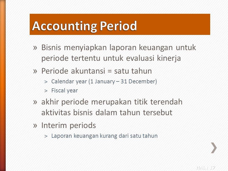 Accounting Period Bisnis menyiapkan laporan keuangan untuk periode tertentu untuk evaluasi kinerja.