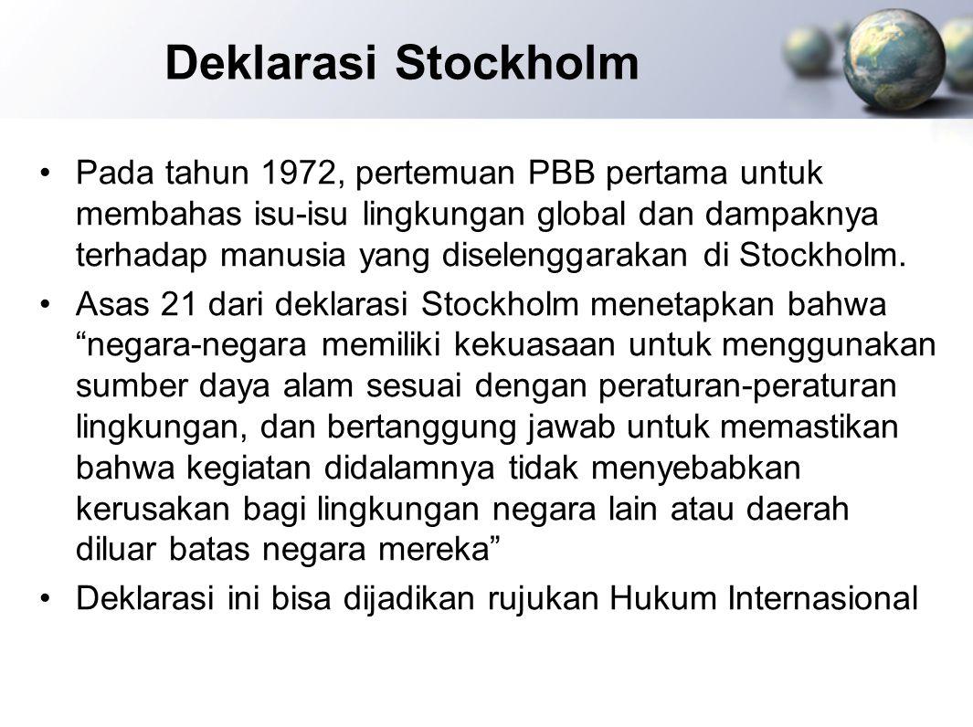 Deklarasi Stockholm
