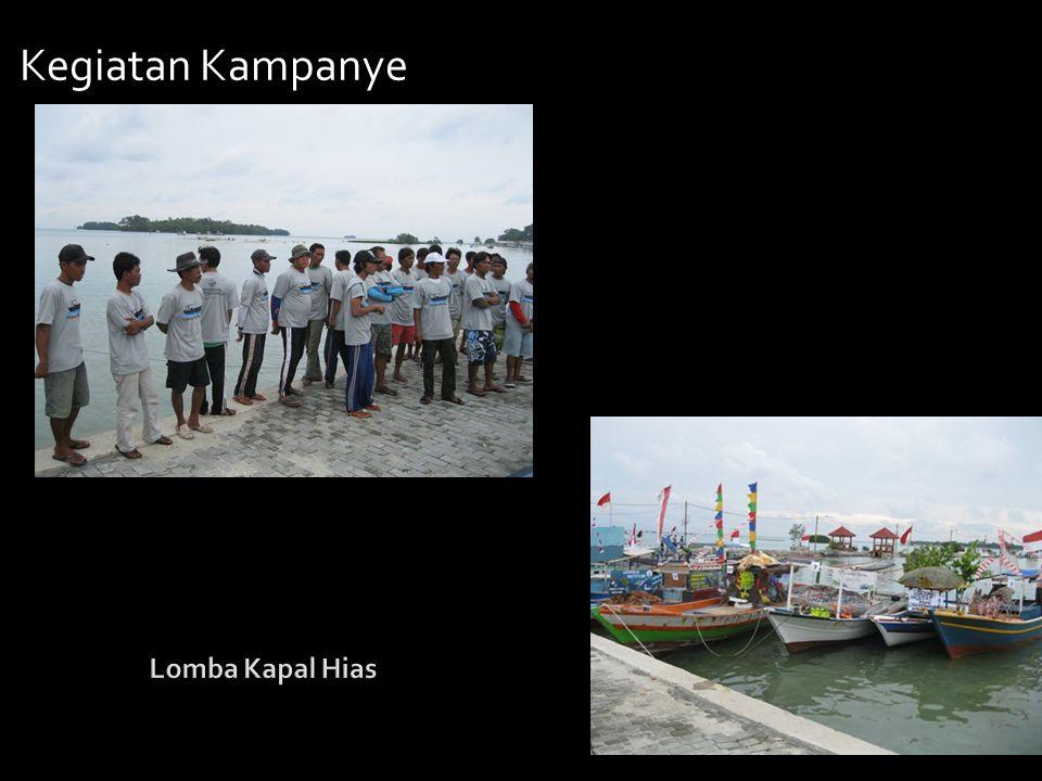 Kegiatan Kampanye Lomba Kapal Hias