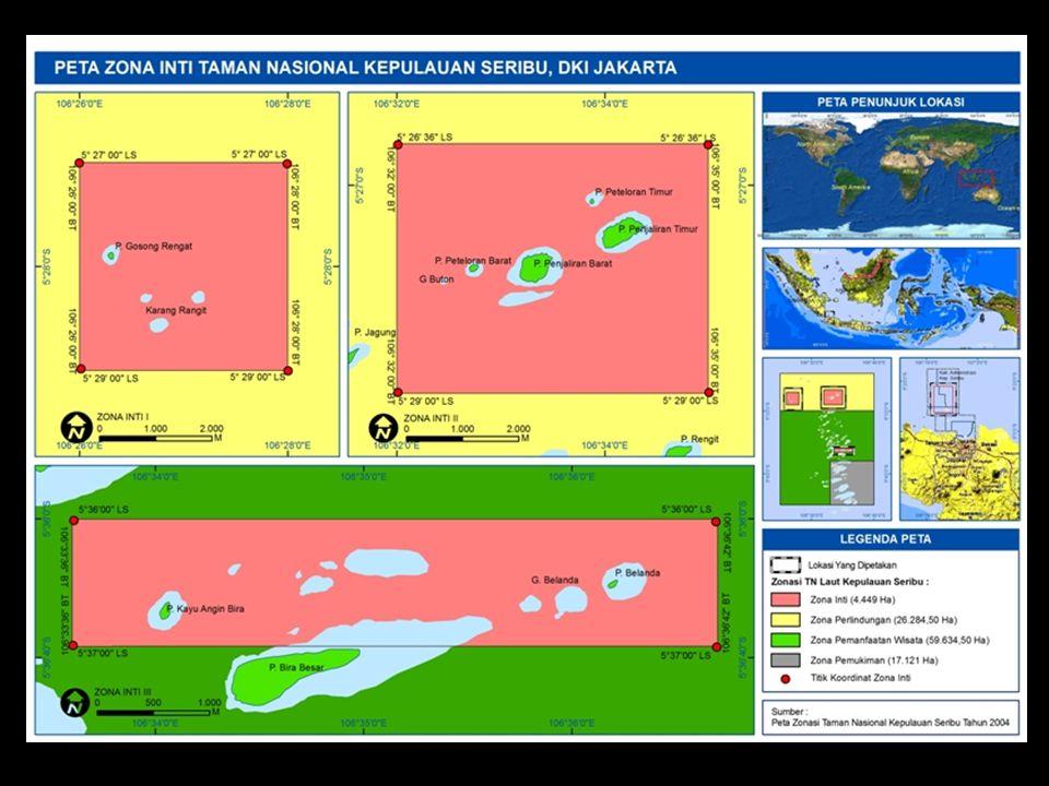 Luas total zona inti 4,449 ha
