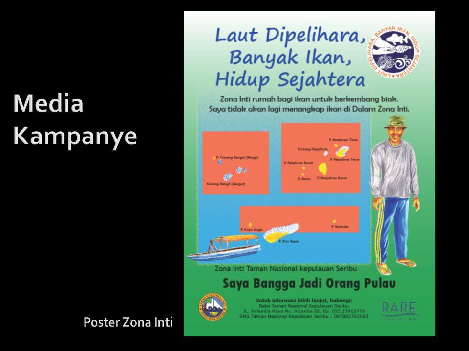 Media Kampanye Poster Zona Inti