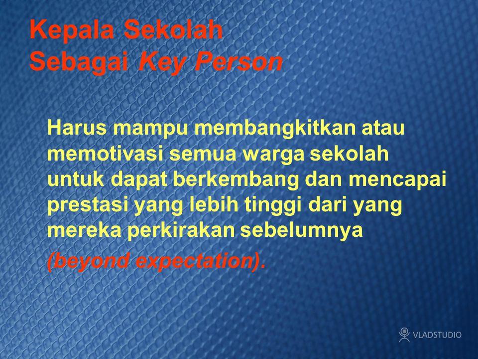 Kepala Sekolah Sebagai Key Person