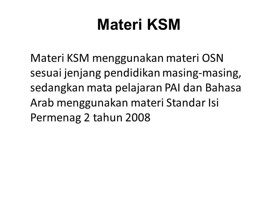 Materi KSM