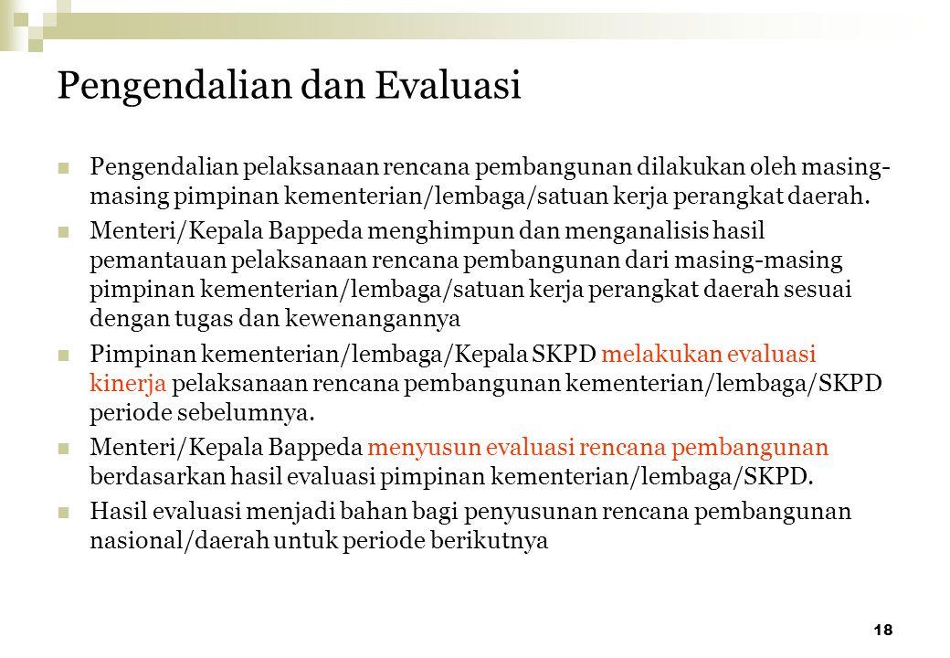 Pengendalian dan Evaluasi