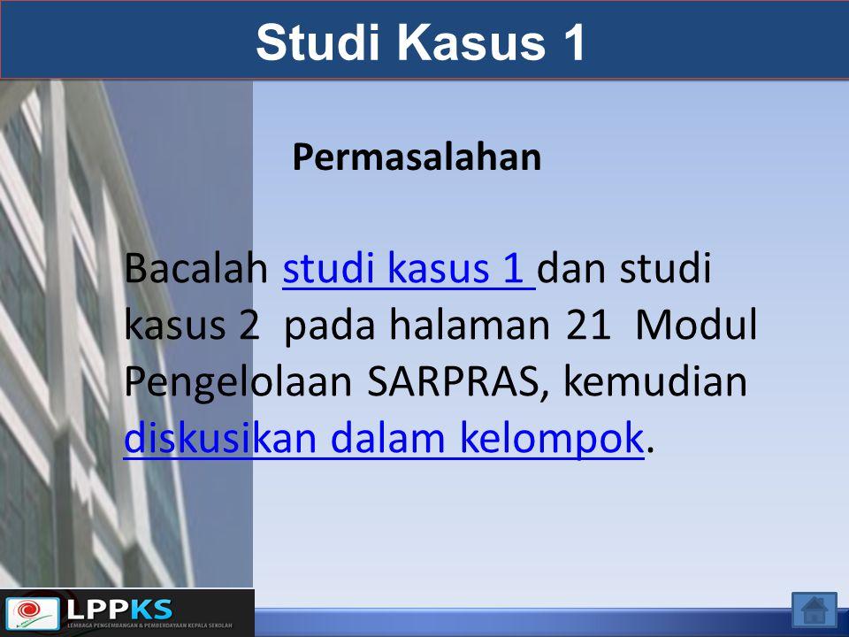 Studi Kasus 1 Permasalahan.