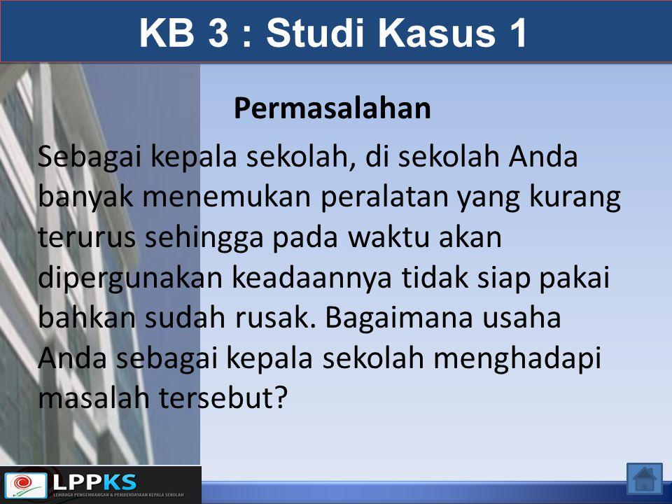 KB 3 : Studi Kasus 1 Permasalahan