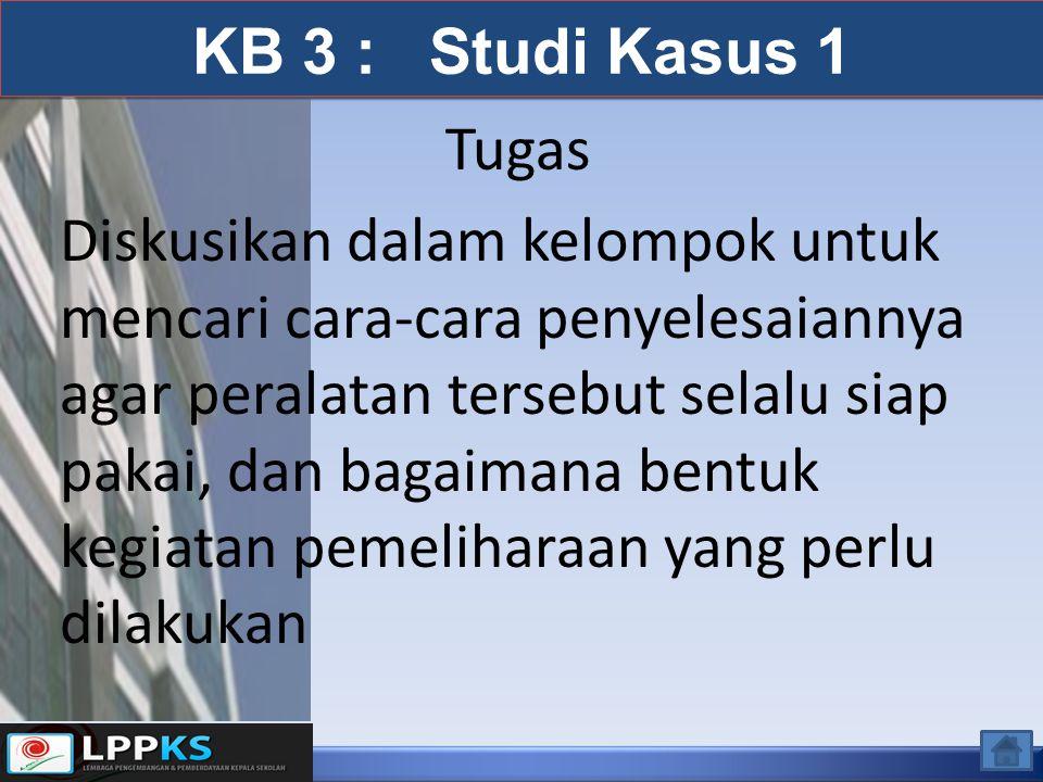 KB 3 : Studi Kasus 1 Tugas.