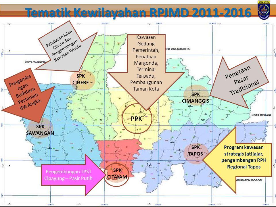 Tematik Kewilayahan RPJMD 2011-2016