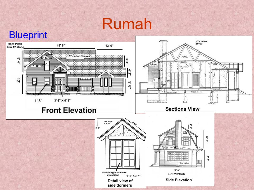 Rumah Blueprint