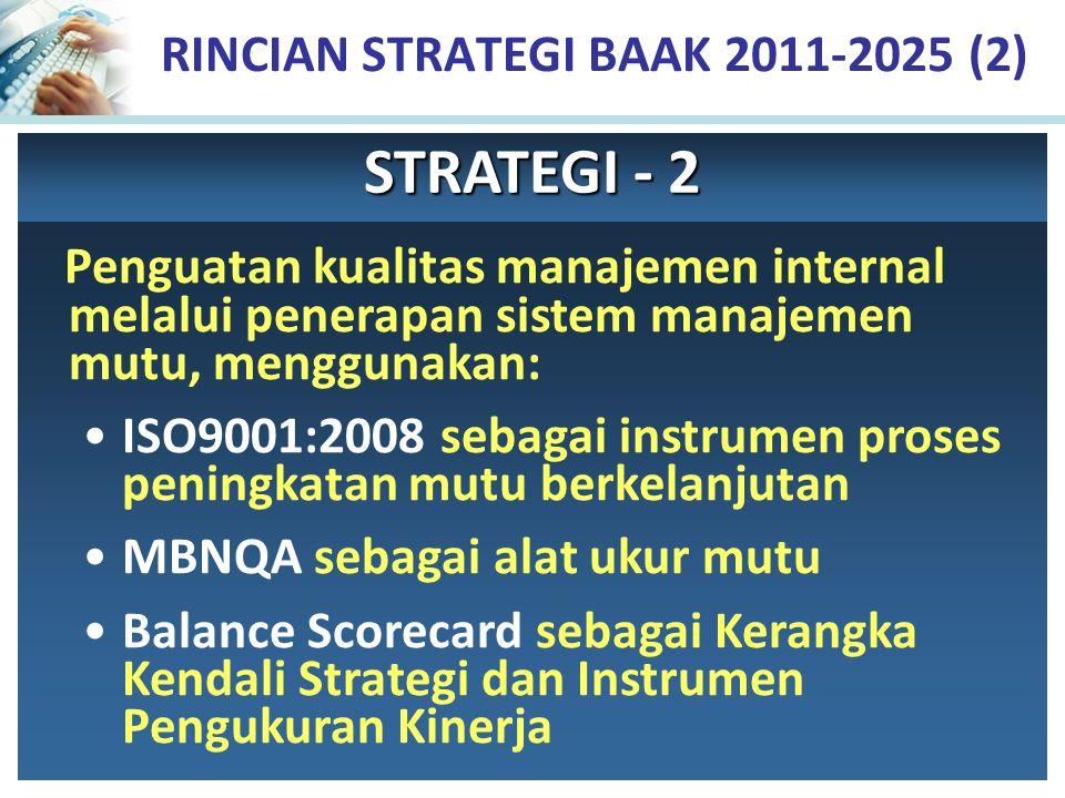 RINCIAN STRATEGI BAAK 2011-2025 (2)