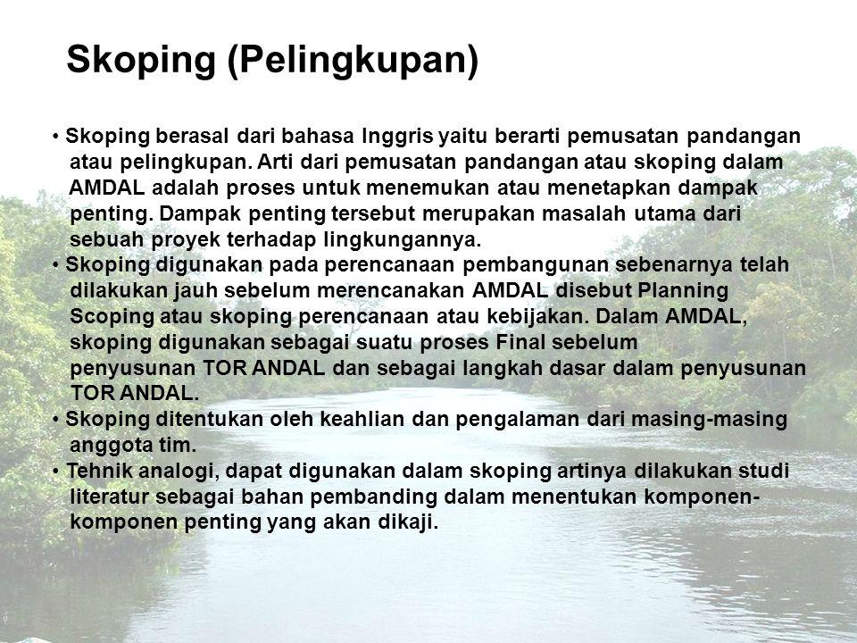 Skoping (Pelingkupan)