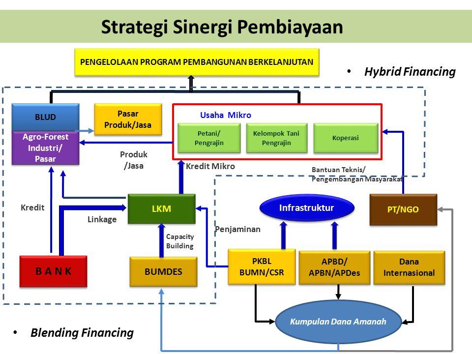 Strategi Sinergi Pembiayaan