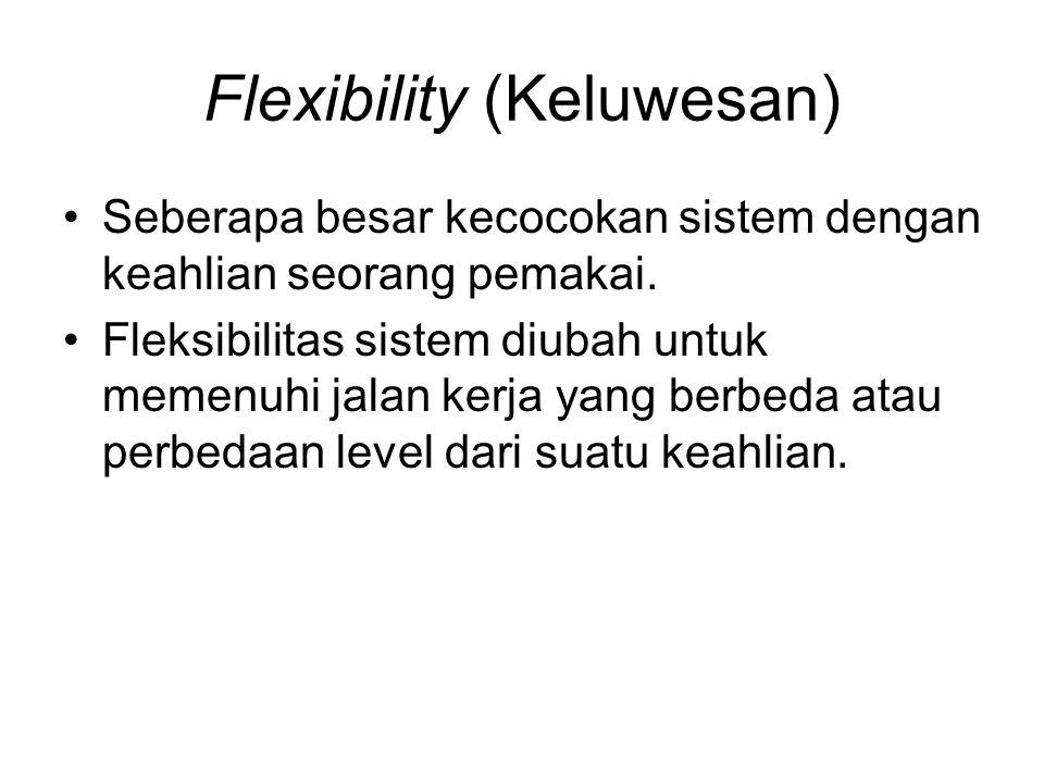 Flexibility (Keluwesan)