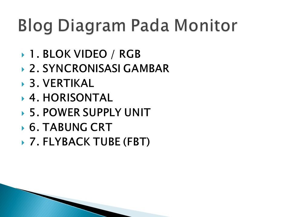 Blog Diagram Pada Monitor