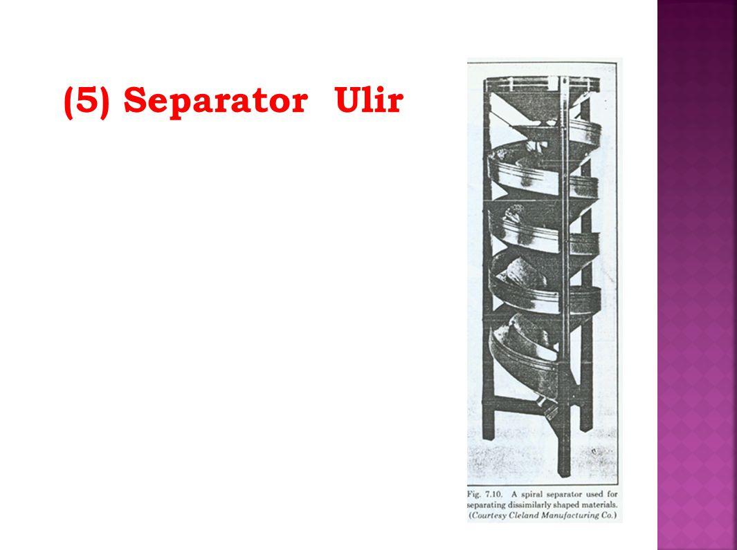 (5) Separator Ulir