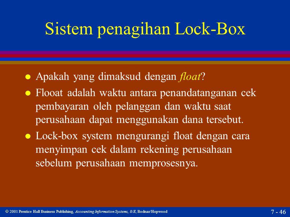 Sistem penagihan Lock-Box