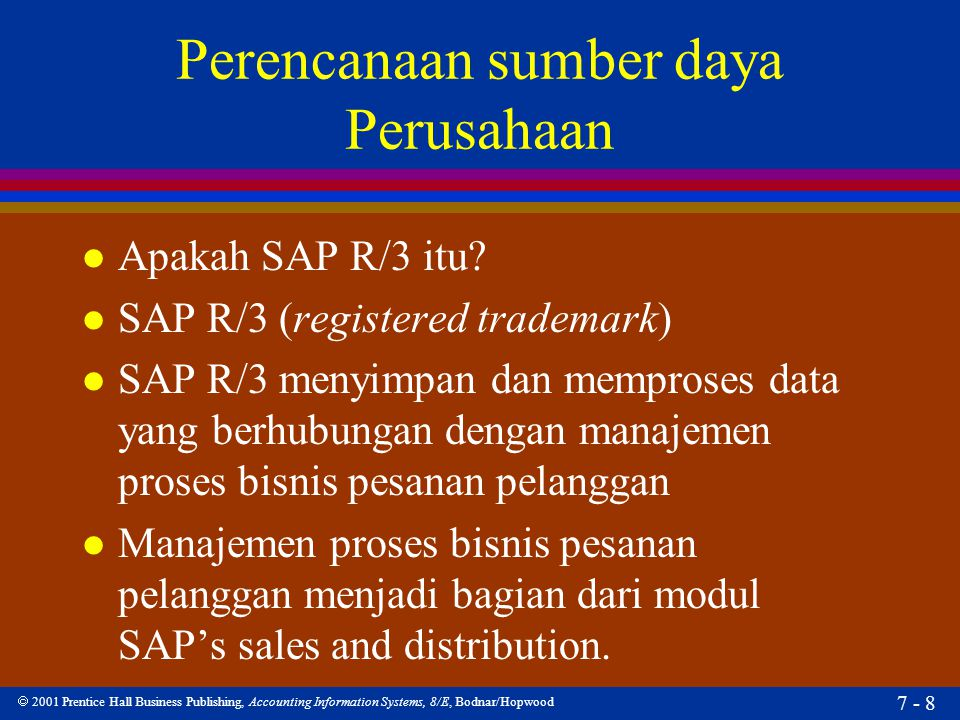 Perencanaan sumber daya Perusahaan