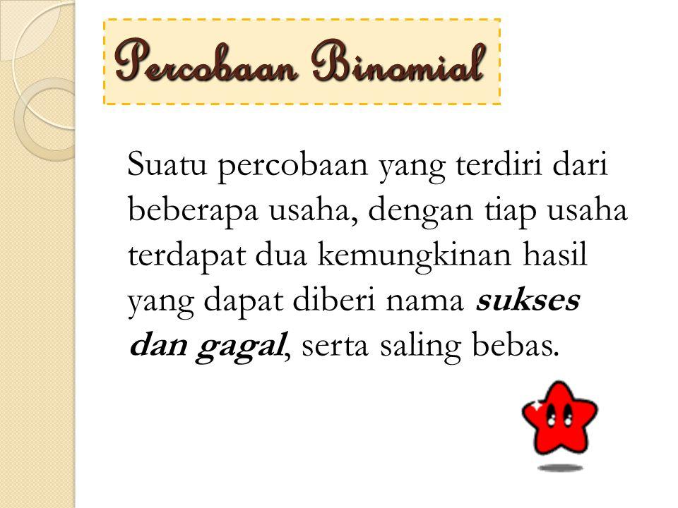 Percobaan Binomial