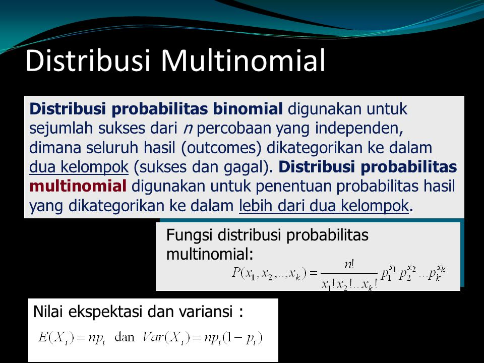 Distribusi Multinomial
