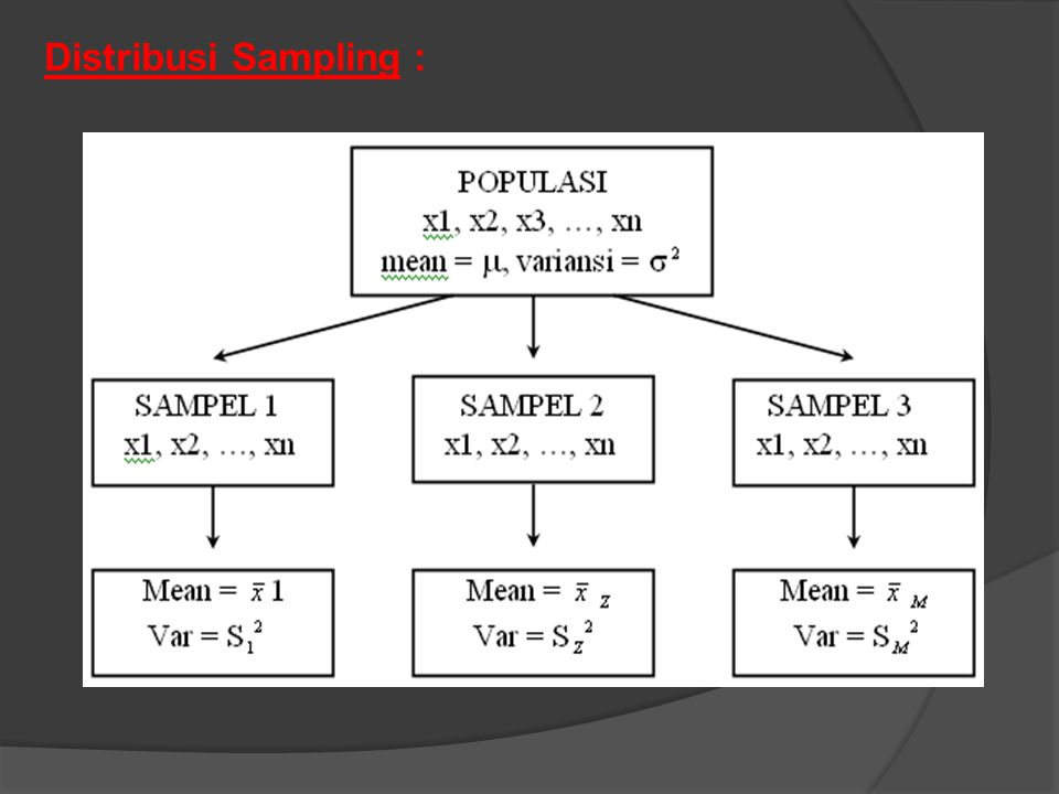 Distribusi Sampling :