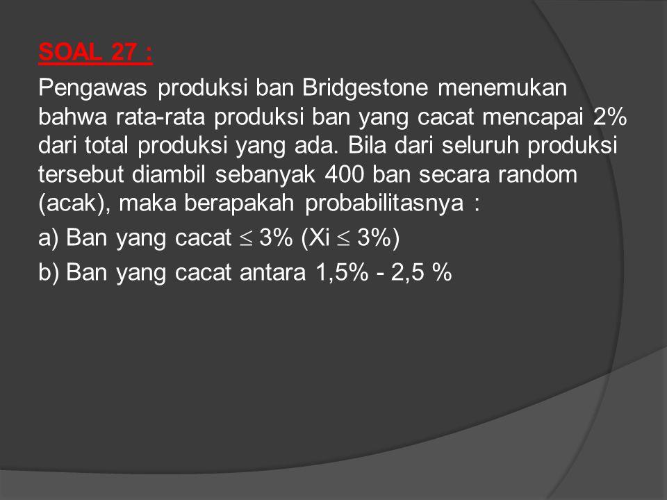 SOAL 27 :