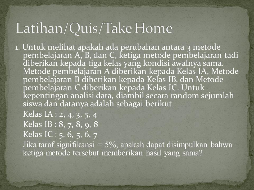 Latihan/Quis/Take Home
