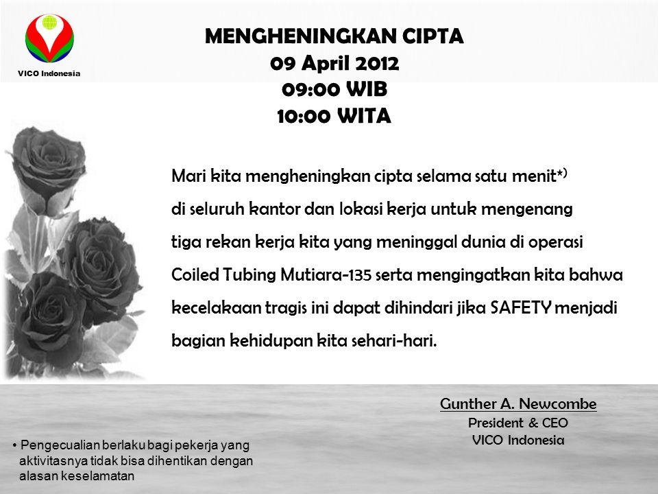 MENGHENINGKAN CIPTA 09 April 2012 09:00 WIB 10:00 WITA