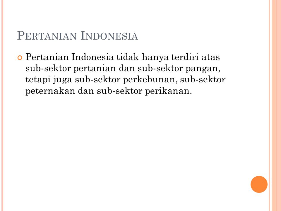 Pertanian Indonesia