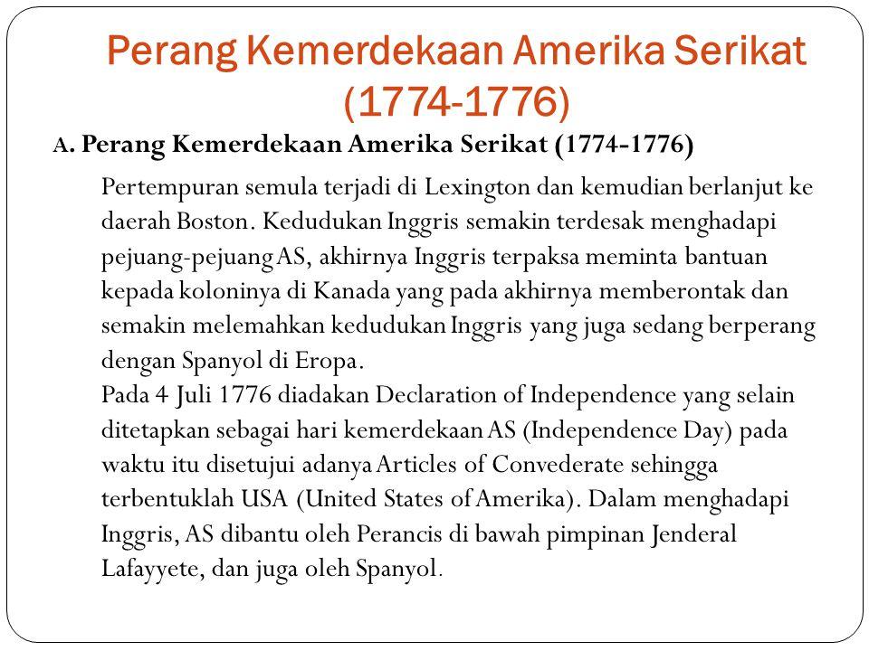 Perang Kemerdekaan Amerika Serikat (1774-1776)
