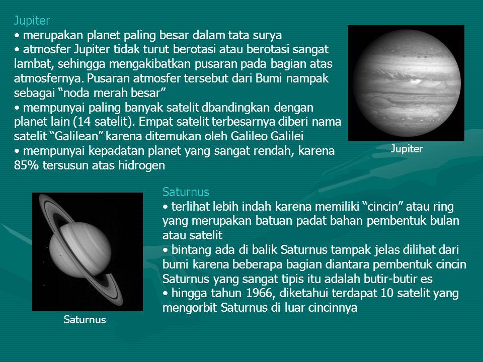 merupakan planet paling besar dalam tata surya
