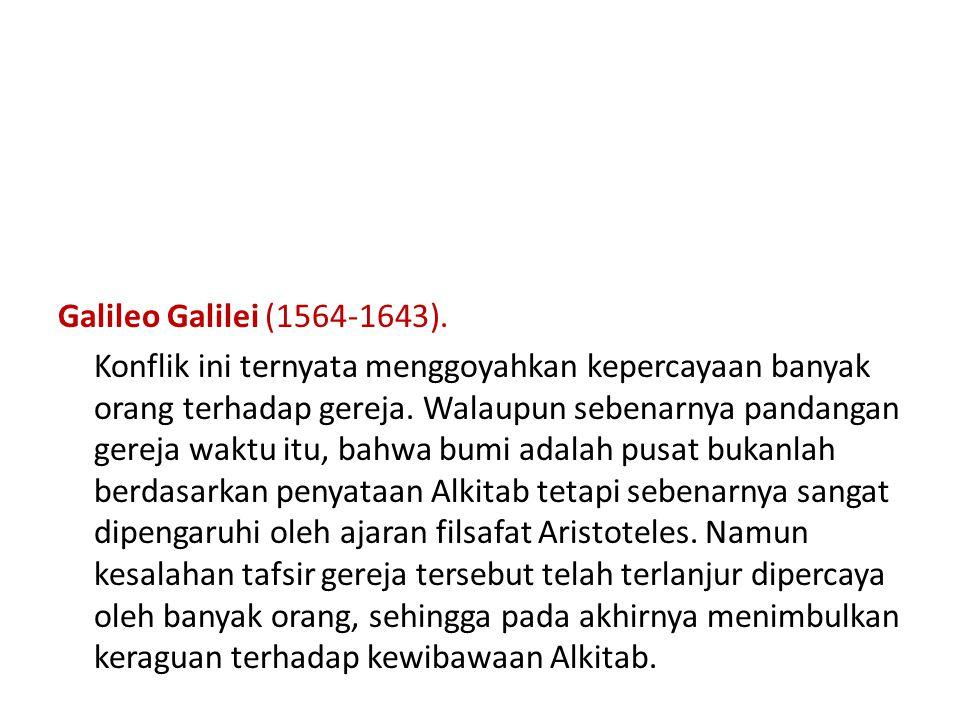 Galileo Galilei (1564-1643).